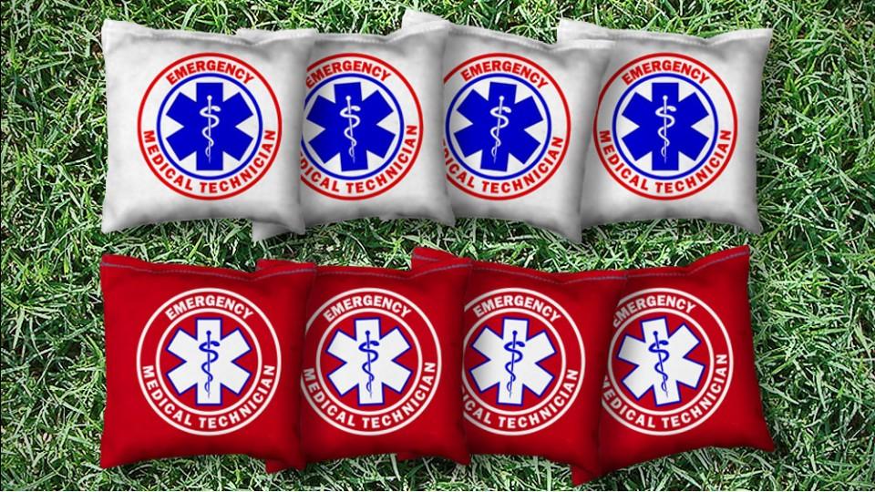The EMT's - 8 Cornhole Bags