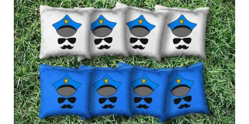 The Officers - 8 Cornhole Bags