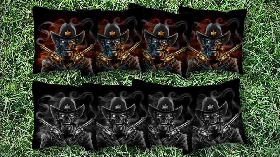 The Sheriff Skulls - 8 Cornhole Bags
