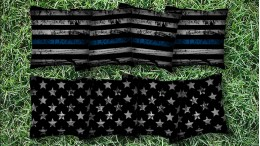 The Thin Blue Lines - 8 Cornhole Bags