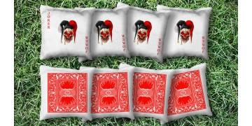 The Evil Jokers - 8 Cornhole Bags