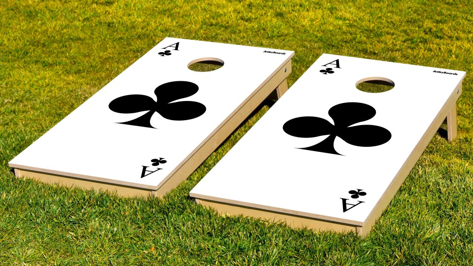 The Ace of Clubs w/bags