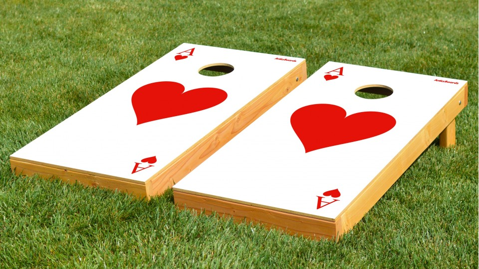 The Ace of Hearts w/bags