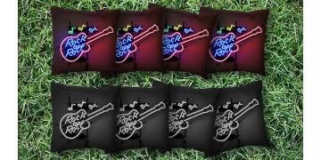 The Neon Guitars - 8 Cornhole Bags