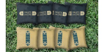 The Skates or Die - 8 Cornhole Bags