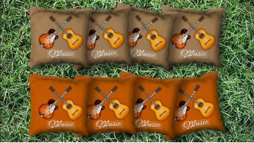 The Strings - 8 Cornhole Bags