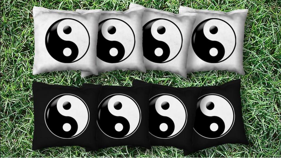 The Yin Yangs - 8 Cornhole Bags