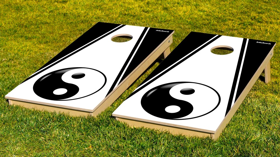 The Yin Yangs w/bags