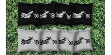 The Bikers - 8 Cornhole Bags