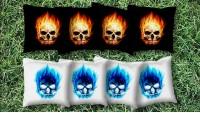 Flaming Skulls +$19.99