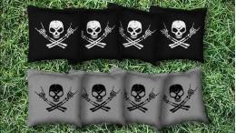 The Metal Heads - 8 Cornhole Bags