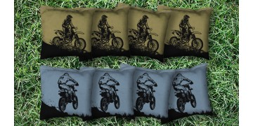 The Motorsports - 8 Cornhole Bags