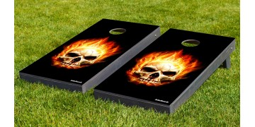 The Flaming Skulls w/bags