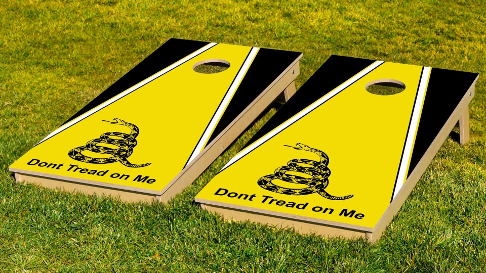The Don't Tread On Me's w/bags