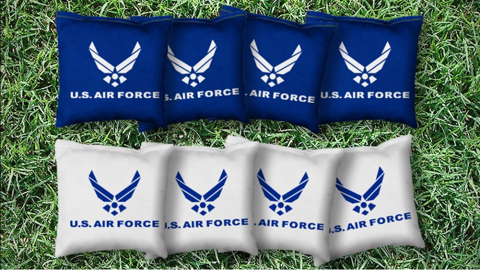 The Air Forces - 8 Cornhole Bags