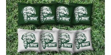 The Army Skulls - 8 Cornhole Bags