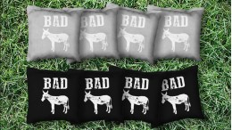 The Bad Asses - 8 Cornhole Bags