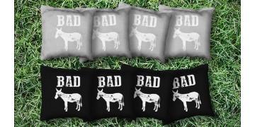 The Bad Asses - 8 Cornhole Bags