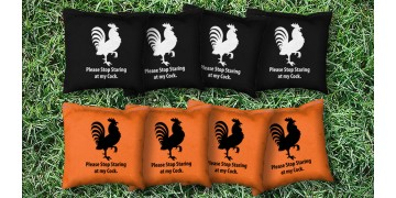 The Big Roosters - 8 Cornhole Bags
