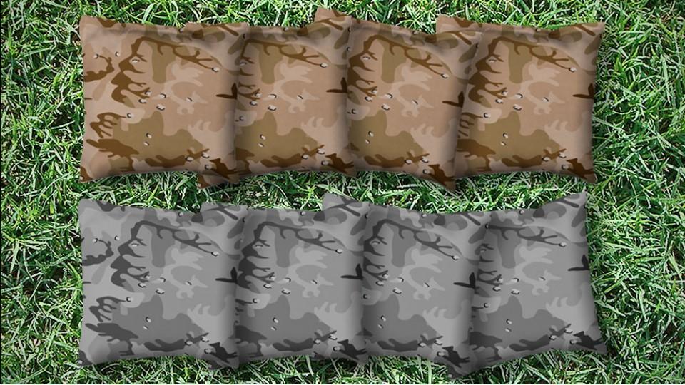 The Deserts - 8 Cornhole Bags