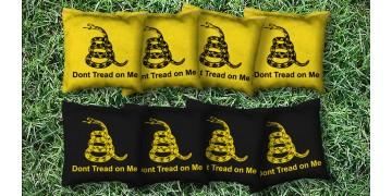 The Don't Tread on Me - 8 Cornhole Bags