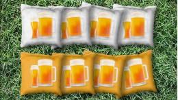 Drink Beers - 8 Cornhole Bags