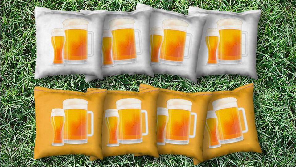 The Drink Beers - 8 Cornhole Bags