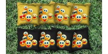 The Emoji's - 8 Cornhole Bags