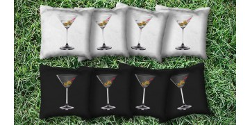 The Martini's - 8 Cornhole Bags