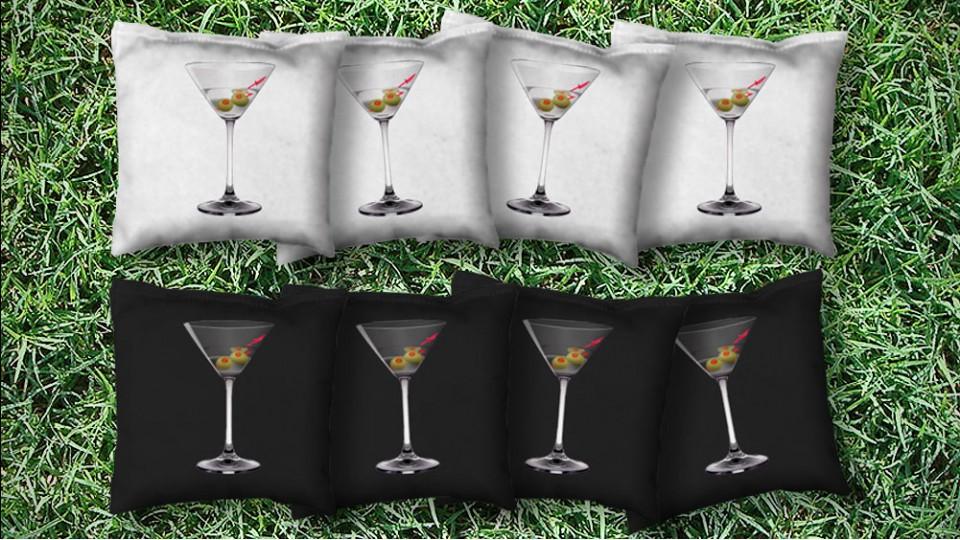 The Martini's - 8 Cornhole Bags