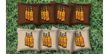 The More Beers - 8 Cornhole Bags