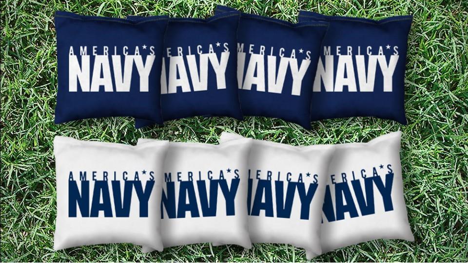 The Naval Forces - 8 Cornhole Bags