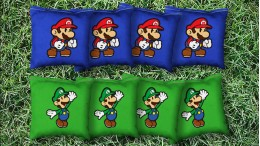 The Nintendoes - 8 Cornhole Bags
