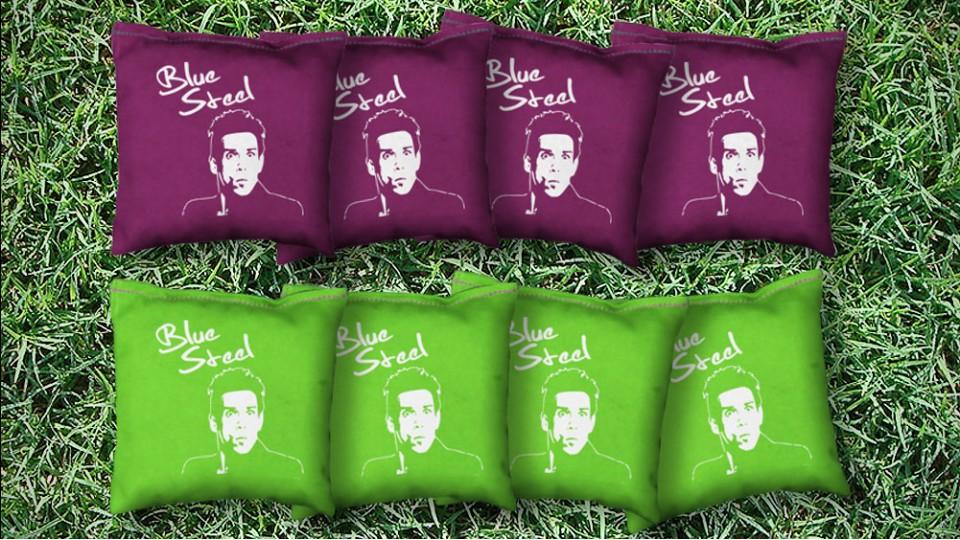The Zoolanders - 8 Cornhole Bags