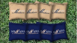 The Wedded Bliss - 8 Cornhole Bags