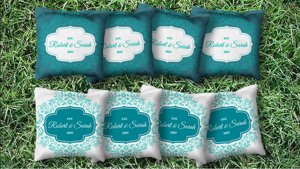 The Wedding Hallmarks - 8 Cornhole Bags