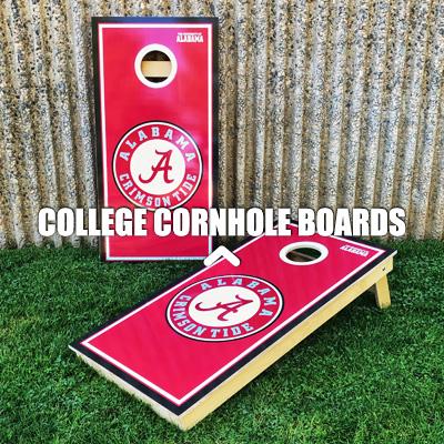 College Cornhole Boards
