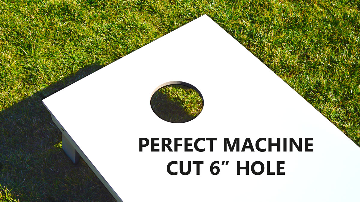 AnticsBoards Perfect Machine Cut Hole